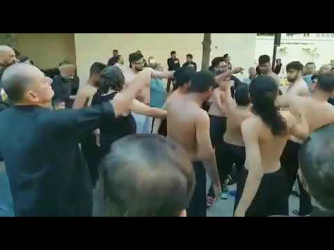 Chehlum (Arbaeen ) procession held in downtown Dallas. Jago Times News Report by Azhar Ghayoor
