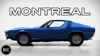 ALFA Romeo Montreal V8 1972 - Full test drive in top gear - Engine sound | SCC TV