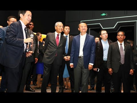 PM visits Alibaba's HQ in China