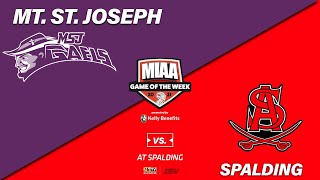 MIAA Game of tнe Week 2021: Mt. St. Joseph vs. Spalding