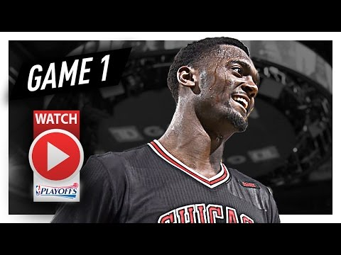 Bobby Portis Full Game 1 Highlights vs Celtics 2017 Playoffs - 19 Pts, 9 Reb, CLUTCH!
