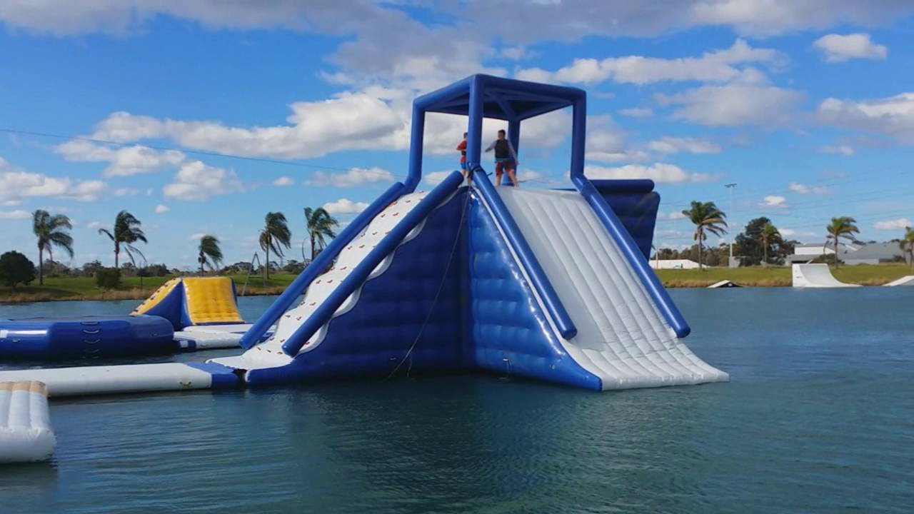 grand kids at cables wake park penrith youtube. Black Bedroom Furniture Sets. Home Design Ideas