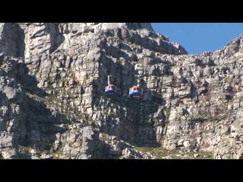 Cape Town, Table Mountain by Cable Car