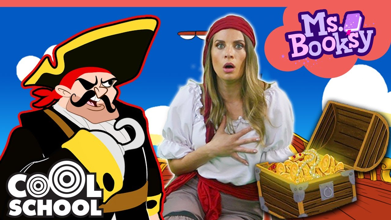 Treasure Island: The Full Story!! | Story Time With Ms. Booksy - Bedtime Stories for Kids!