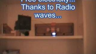 Energy from RadioWaves