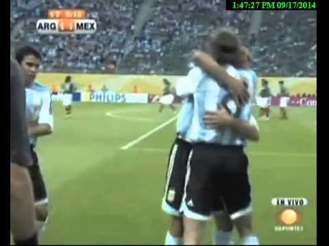 Argentina 2 Mexico 1 - Mundial 2006 (RELATO TELEVISA)