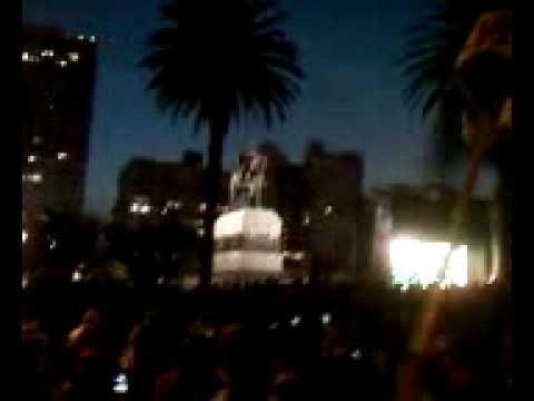 Uruguay - Ghana - Plaza Independencia - 3