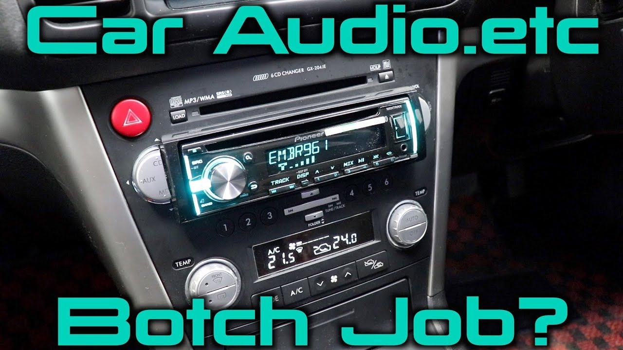 2006 Subaru Legacy Custom Stereo Install Youtube Mcintosh Wiring