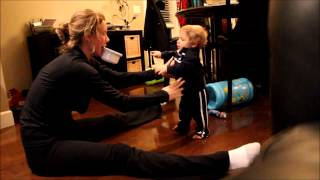 Tutorial on teaching your kid to walk!