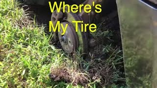 Don't Go On This Adventure! MY Tire Falls Off On The Interstate!