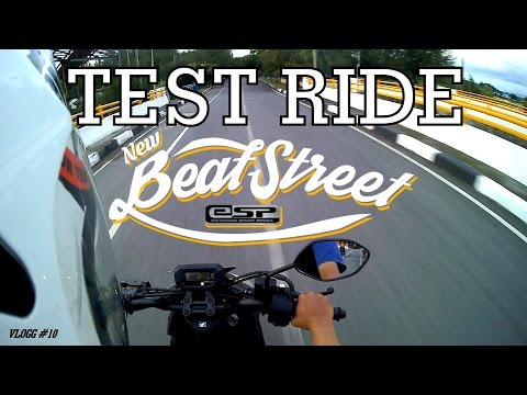 Test Ride HONDA NEW BEAT STREET FI 2016