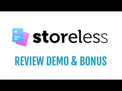 Storeless Review Demo Bonus - No Store eCom Funnel Builder Software