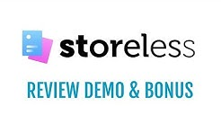 Storeless Review Demo Bonus - No Store eCom Funnel Builder Software
