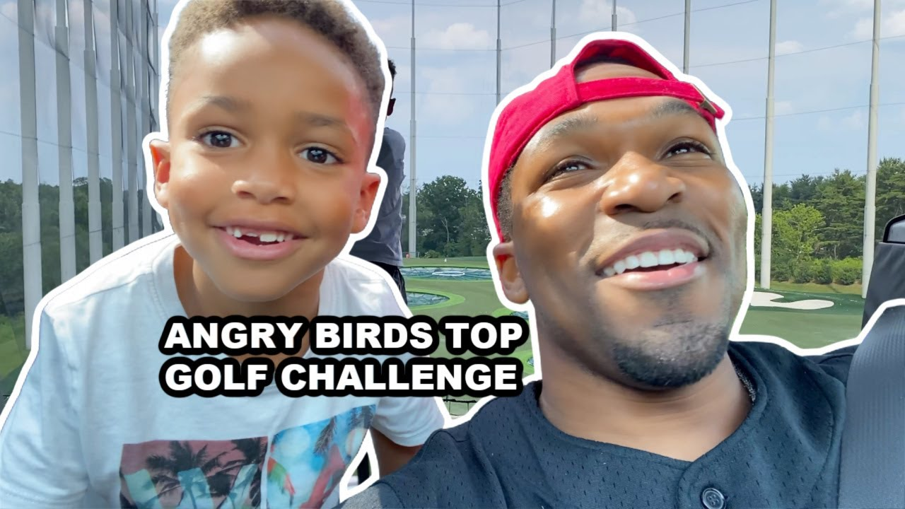 Angry Birds Top Golf Challenge!