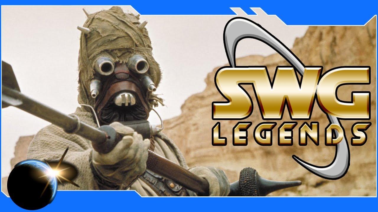 SWG: Legends - Assault on Fort Tusken! Star Wars Galaxies Tusken Raiders