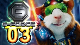 G-Force Walkthrough Part 3 (PS3, X360, PC, Wii, PSP, PS2) Movie Game [HD]