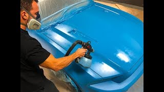 Grabber Blue Plasti Dip is Clean and Mean