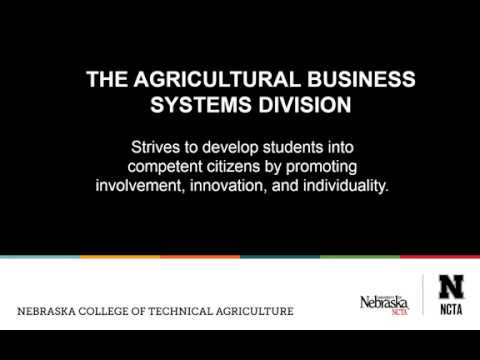 Agribusiness at NCTA