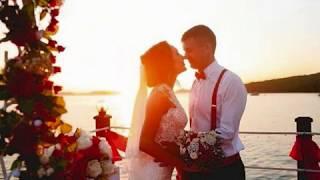Свадебный шатер - красная свадьба, Владивосток, остров Русский