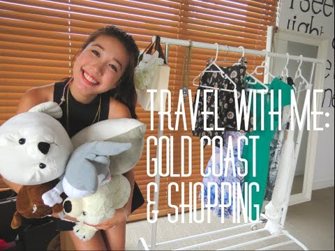 Travel With Me: Gold Coast & Shopping Haul | Jenny Zhou