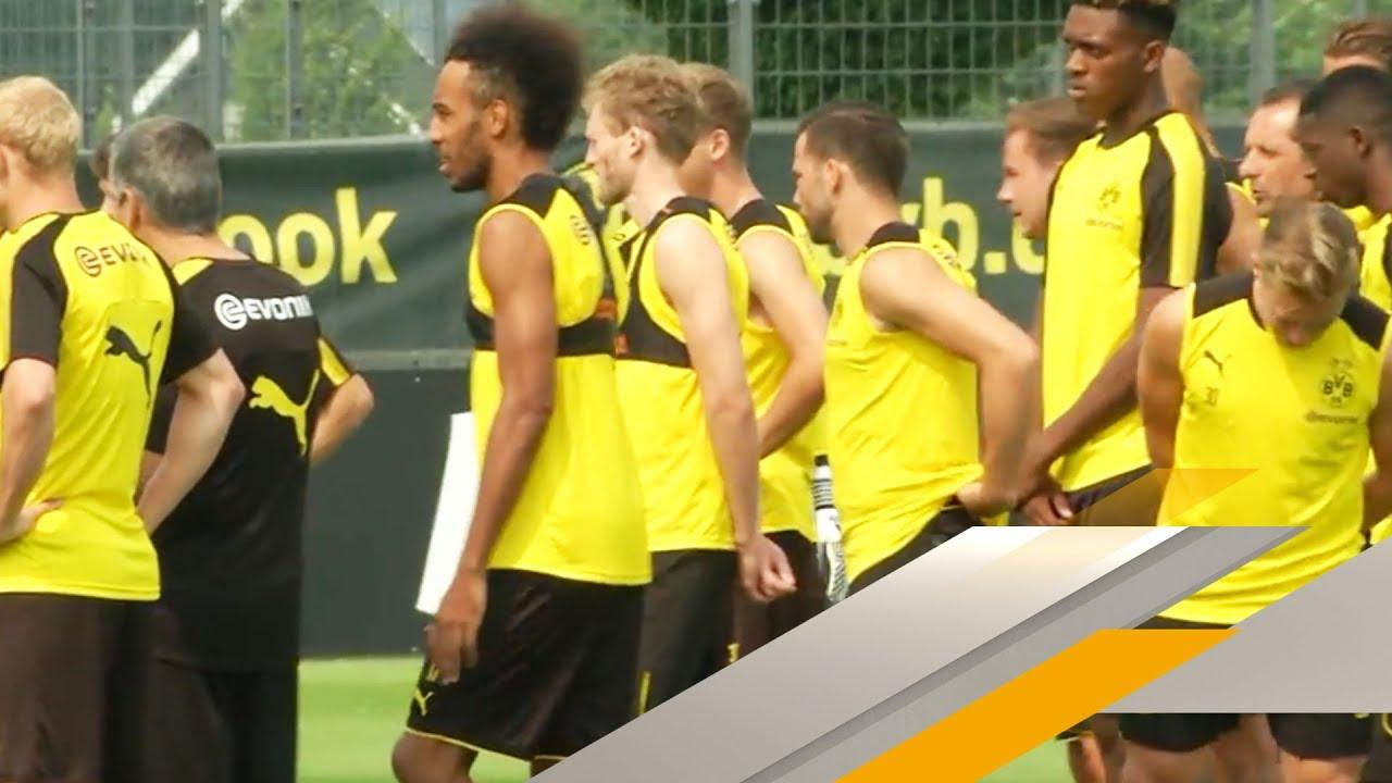 Aubameyang Bleibt In Dortmund