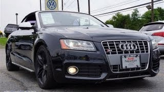 2010 Audi S5 3.0T Supercharged Convertible