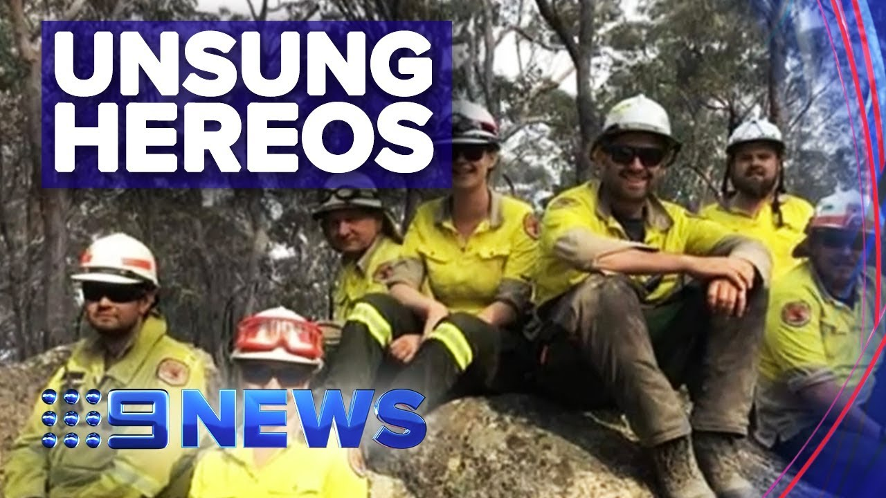 NPWS rangers helping fight fires in north NSW | Nine News Australia