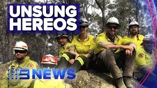 NPWS rangers helping fight fires in north NSW   Nine News Australia