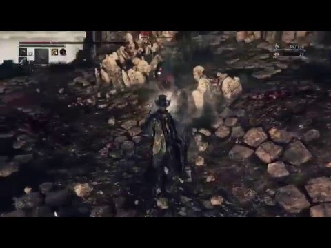 Bloodborne PvP. 99 Vitality Arcane build BL142. Hunters Axe & Saw Spear Montage