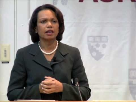 Condoleezza Rice: Why Democracy Matters