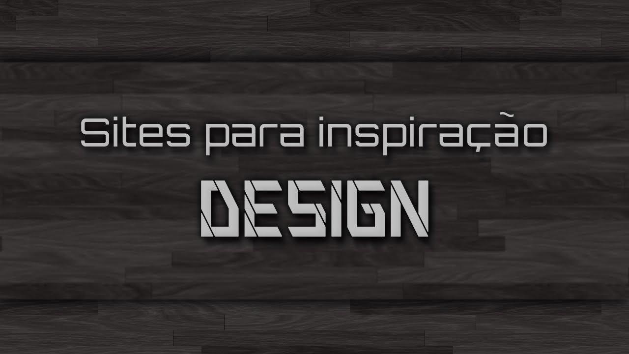 Sites para inspiração Design Gráfico - YouTube