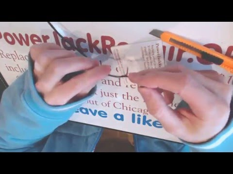 How to repair a broken dc power jack Toshiba Satellite s50-a  socket input port on laptop