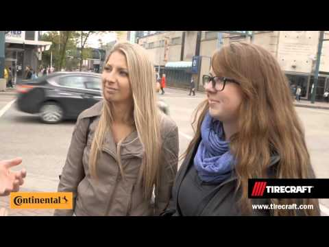 Fall 2015 Tirecraft Man On The Street - Edmonton -  Featuring: Continental Tire