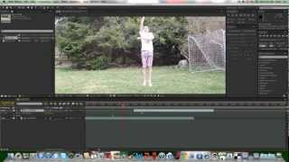 How To Make Yourself Fly In Adobe After Effects CS5.5