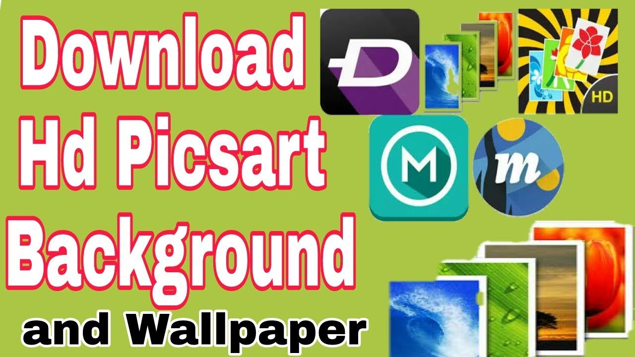 How To Download Hd Picsart Background And Wallpaper In Urdu Hindi