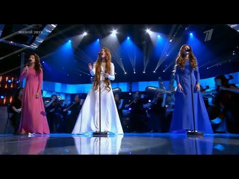 "(HD) Sad Performance! Alina/Kseniya/Khristina- ""Broken Vow""- Lara Fabian Cover- Voice Kids Russia"
