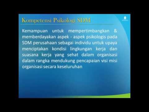 pertemuan 1 PSIKOLOGI SDM