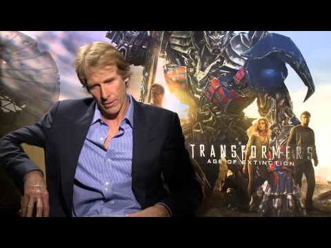 Transformers 4: Age of Extinction: Director Michael Bay Official Movie Interview