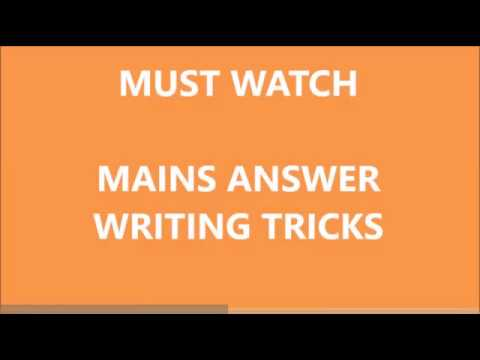 IAS KAS mains tips strategy/meaning of question tag or directives/General studies answer writing