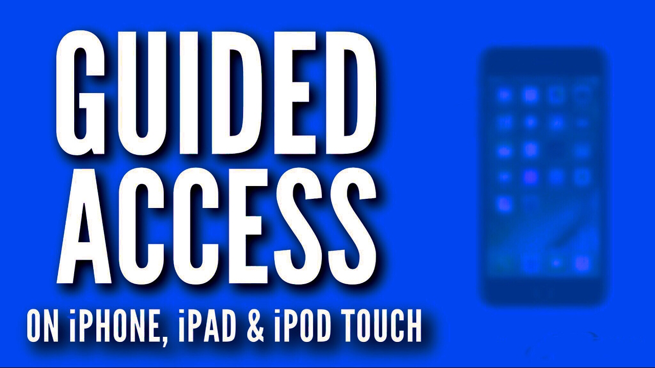 iphone guided access not working