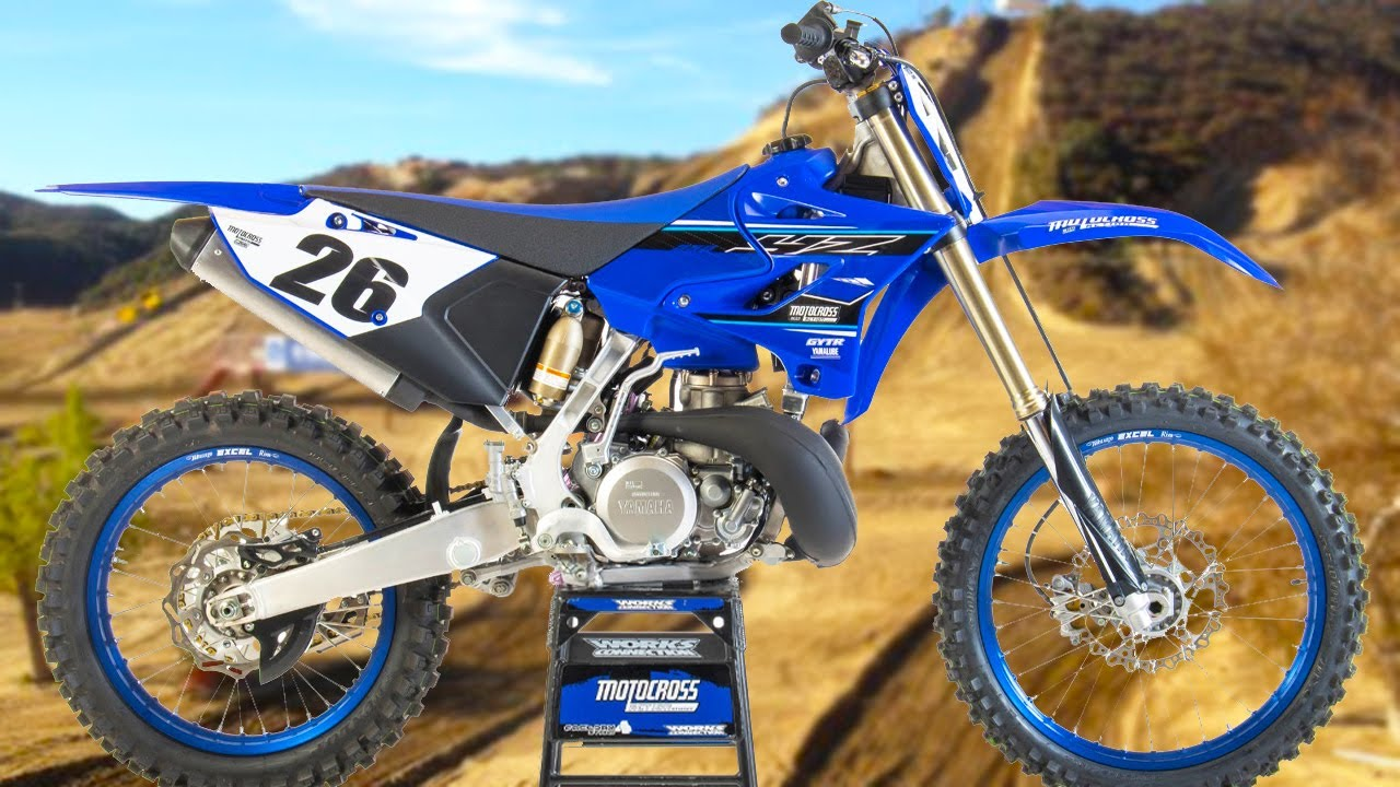 First Ride 2021 Yamaha YZ250 Two Stroke - Motocross Action Magazine