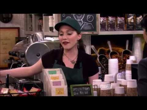 2 Broke Girls  Working at the coffee shop