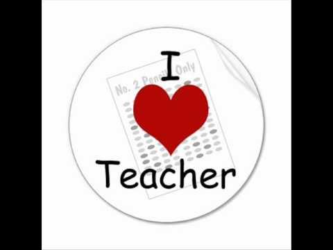 I love a teacher