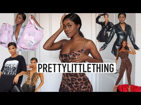 PRETTYLITTLETHING TRY ON HAUL | New Year.. New Wardrobe 🤪