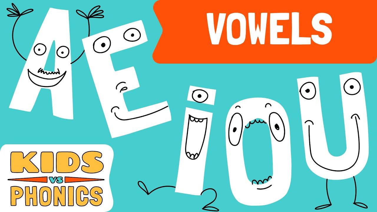 Short Vowels A E I O U Fun Phonics Learn To Read Kids Vs Phonics