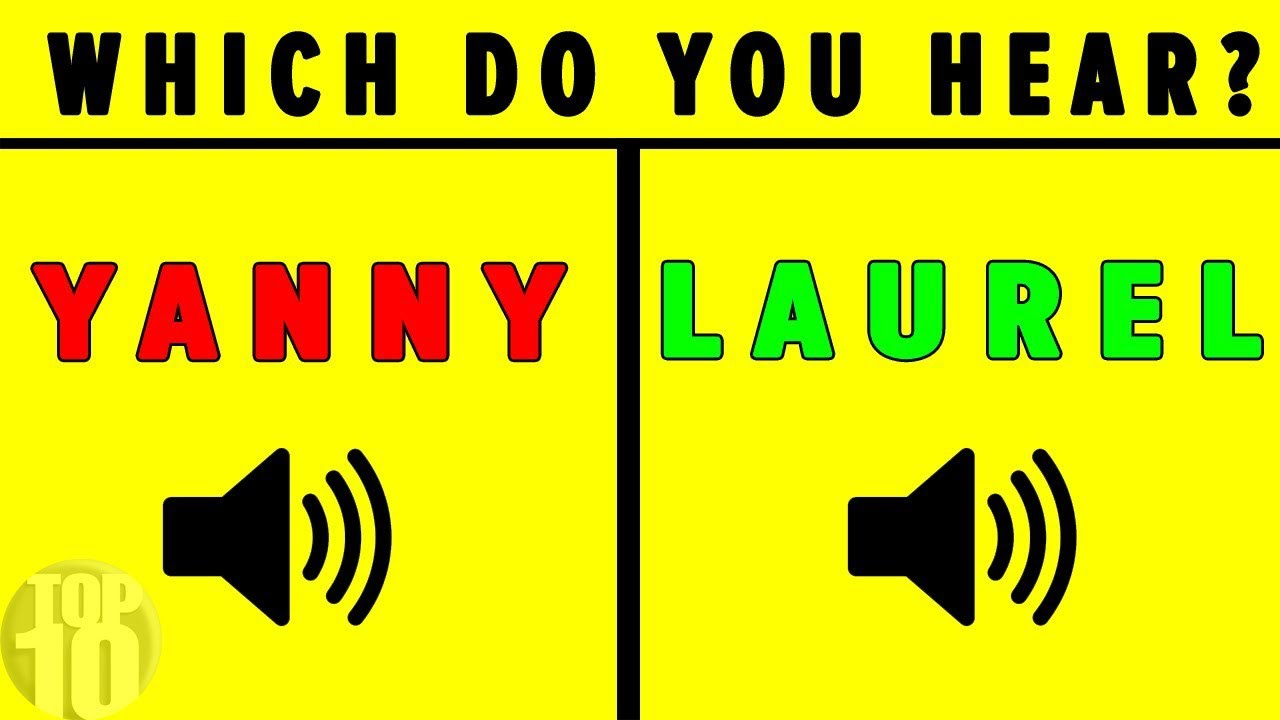"""Download """"YANNY"""" OR """"LAUREL"""" SOLVED - Which Do YOU Hear?"""