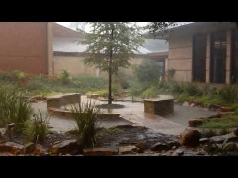 Thunder Storm The Woodlands First Baptist Church June 2012
