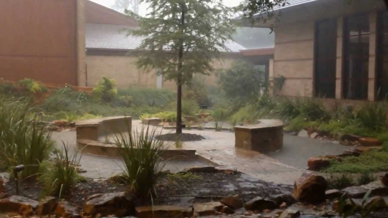 thunder storm the woodlands first baptist church june 2012 youtube