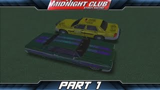 Midnight Club: Street Racing (Part 1) - Homeboy Wannabe - Thunder