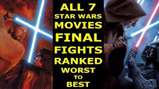 7 Star Wars Lightsaber Duels Ranked Worst to Best